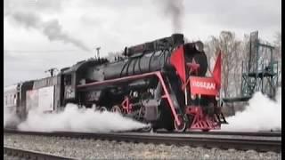 Из Челябинска в Кыштым отправился ретро-поезд с ветеранами