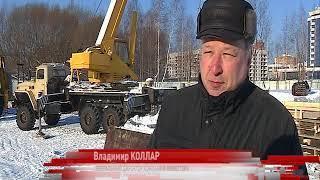 В Ярославле возводят колесо обозрения
