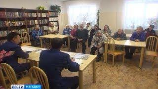 Представитель прокуратуры провел прием в Доме ветеранов