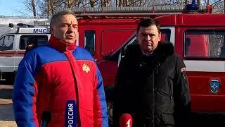 Руководитель МЧС России Владимир Пучков с рабочим визитом посетил Ярославскую область