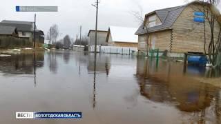 В западных районах паводок пошёл на убыль