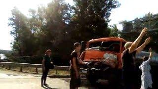 Водителя зажало в салоне большегруза на трассе Уфа – Оренбург