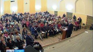 Глава региона Сергей Носов Носов встретился с жителями Автотэка
