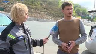 Иностранец, спровоцировавший ДТП на Выселковой, не хотел признать своей вины