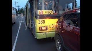 Водитель троллейбуса засмотрелся на хабаровский собор и устроил ДТП. Mestoprotv