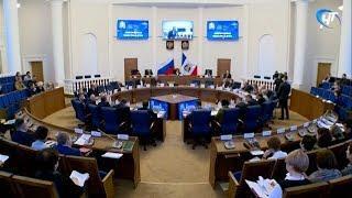 Депутаты Новгородской областной думы собрались на очередное заседание