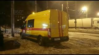 Появилось видео сместа взрыва в кабельном коллекторе навостоке Москвы