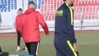 """Футбольный """"Енисей"""" провёл финальную тренировку перед первым домашним матчем"""