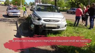 В Вологде в ДТП серьёзно пострадал водитель