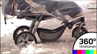 В Дубне тротуар превратился в полосу препятствий