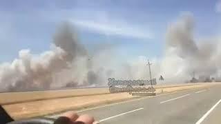 Пожар в Большой Джалге