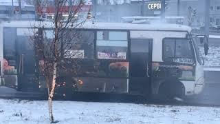 В Ярославле на ходу задымилась маршрутка