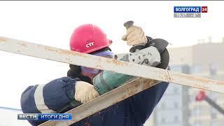 На «Волгоград Арене» начался демонтаж строительных заборов