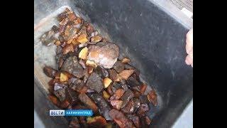 В Калининграде у водителя внедорожника случайно нашли янтарь
