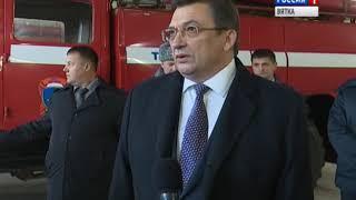 В Белой Холунице торжественно открыли пожарную часть №61(ГТРК Вятка)