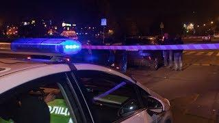 В Киеве на Троещине произошло ДТП с пострадавшими