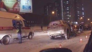 ДТП возле Ауры. Новосибирск