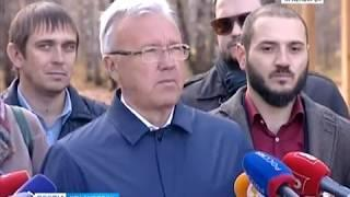 """В Красноярске презентовали новый эко-парк """"Гремячая грива"""""""
