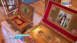 Ковчеги с мощами святых в Николо-Одринском монастыре