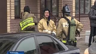 В Ростове на ул. Магнитогорской загорелась квартира в многоэтажке