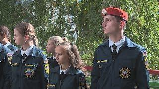 Волгоградский кадет спас тонущего ребенка
