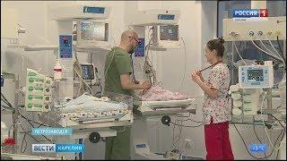 В новом  перинатальном центре появился на свет первый новорожденный