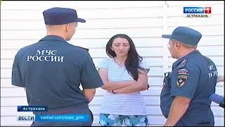 В Астраханской области участились случаи пожаров