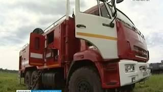 События недели: площадь лесных пожаров в крае достигла 230 тысяч гектаров