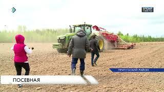 Засеяно уже более 1000 гектаров земли