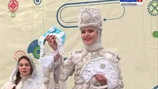 Костромская Снегурочка отметила свой десятый День рождения