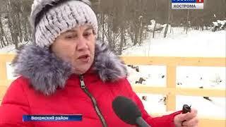 Жители деревни Стрелочка Вохомского района впервые за 30 лет ждут паводка без опасений