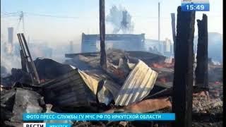 32 летний мужчина погиб на пожаре в Иркутском районе