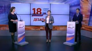 Теледебаты с участием доверенных лиц Владимира Путина и Владимира Жириновского