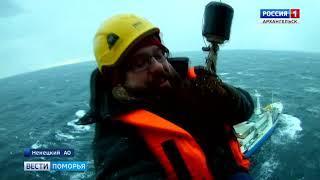 В Баренцевом море с борта научного судна эвакуировали тяжелобольного пациента