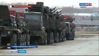 В Новосибирске прошла репетиция Парада Победы