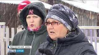 Жители Красногорского района нашли серьезные недочеты в строящемся фельдшерско-акушерском пункте
