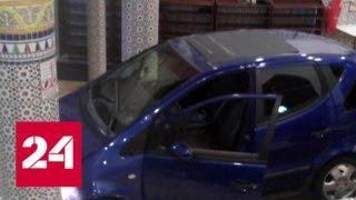 Водитель въехал во французскую мечеть на машине и сбежал - Россия 24