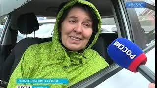 «Недоброе» утро  Водители не могли из за снега проехать по федеральной трассе «Байкал»