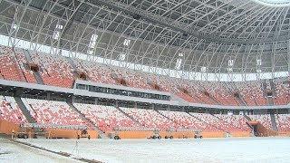 Объединенная комиссия FIFA и Оргкомитета России проинспектировала стадион «Мордовия Арена»