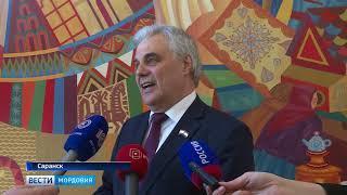 Глава Мордовии Владимир Волков проголосовал на выборах Президента России