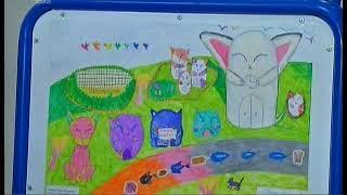 Замок-аквапарк и магазин в виде кота. Школьники нарисовали Челябинск будущего
