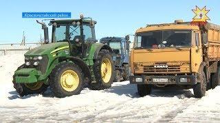 Сельхозпроизводители Чувашии активно готовят технику к весенне-полевым работам.