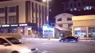 Безумный дрифт по заснеженному центру Кисловодска