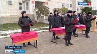 Сегодня в Йошкар-Оле новые сотрудники войск Росгвардии приняли присягу