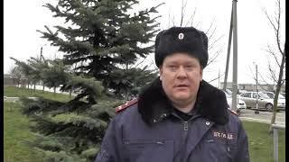 В хуторе Вязники сотрудники Госавтоинспекции вытащили водителя из горящего автомобиля