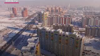 Черное небо Красноярска