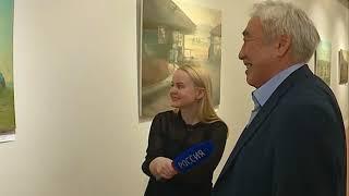«Завтра будет тёплый день»  В Иркутске открылась выставка картин Жамсо Раднаева