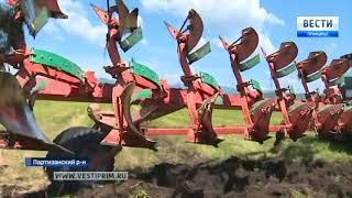 Подарок Новой Силе: на конкурсе трактористов в Приморье распахали целину
