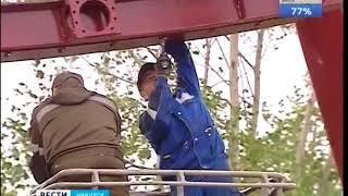Сроки открытия колеса обозрения в Иркутске вновь перенесли  Эксклюзивный репортаж «Вести Иркутск»