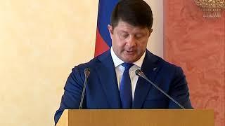 Владимир Слепцов отчитался о деятельности мэрии в 2017 году